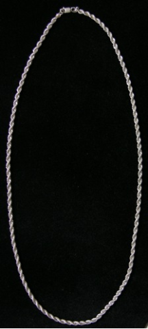 Sterling Silver French Rope Chain 3.0 mm