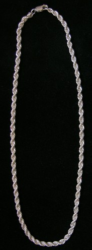 Sterling Silver French Rope 5.00 mm
