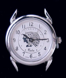 Ladies Watch with Indian Faceplate