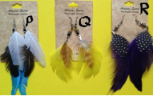 Handcrafted Feather Earrings