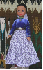 Ooljee - Navajo Doll in traditional clothing by Sarah Joe