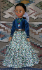 Doli - Navajo Doll in traditional clothing by Sarah Joe