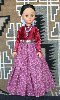 Mosi - Navajo Doll in traditional clothing by Sarah Joe